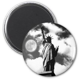 Statue of Liberty New York City 6 Cm Round Magnet