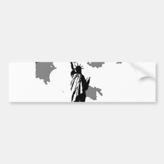 Statue of Liberty New York City Bumper Sticker
