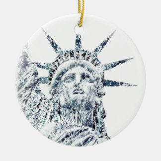Statue of Liberty New York City Christmas Ornament