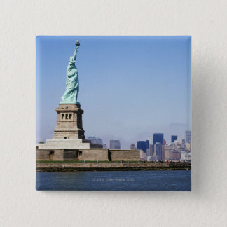 Statue of Liberty, New York City, New York 15 Cm Square Badge