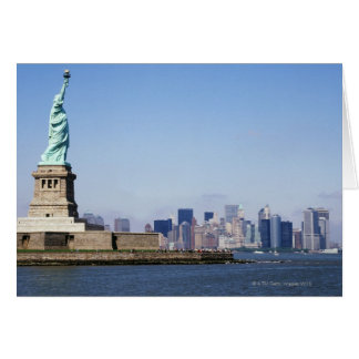 Statue of Liberty, New York City, New York Card