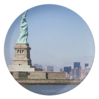 Statue of Liberty, New York City, New York Plate
