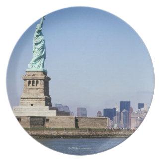 Statue of Liberty, New York City, New York Plate