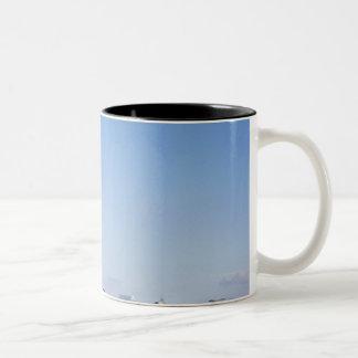 Statue of Liberty, New York City, New York Two-Tone Coffee Mug
