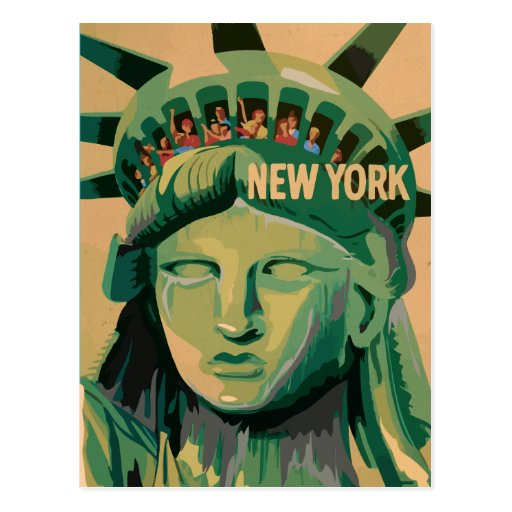 Statue of Liberty  - New York City Postcards