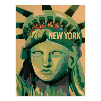 Statue of Liberty - New York City Postcards