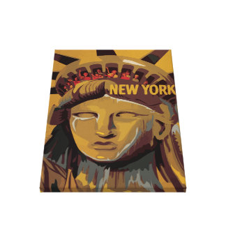 Statue of Liberty  - New York City Stretched Canvas Prints