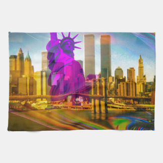 Statue OF Liberty New York Hand Towels