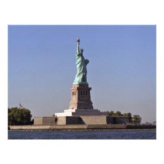 Statue of Liberty New York Harbor New York City Custom Flyer