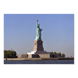 Statue of Liberty, New York Harbor, New York City, Personalized Invites