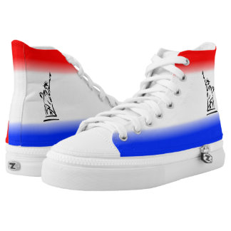 Statue of Liberty New York High Tops