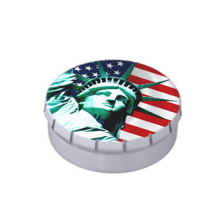 Statue of Liberty, New York Jelly Belly Candy Tins