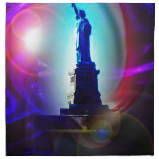 Statue of Liberty New York Napkins