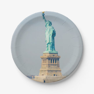 Statue of Liberty New York - Paper Plate 7 Inch Paper Plate
