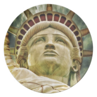 Statue of Liberty, New York Party Plates