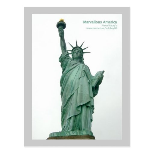 Statue Of Liberty, New York Postcards