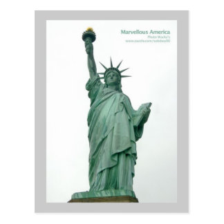 Statue Of Liberty New York Postcards