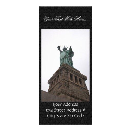Statue Of Liberty, New York. Rack Card Design