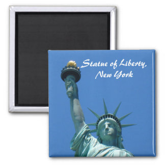 Statue of Liberty, New York Square Magnet