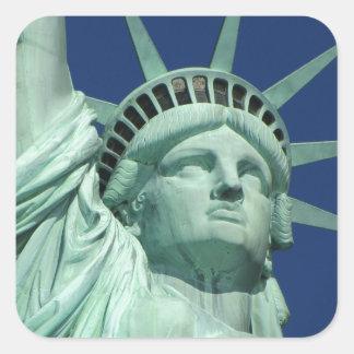Statue of Liberty, New York Square Sticker