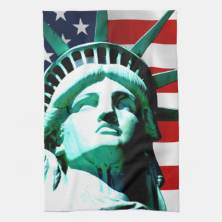 Statue of Liberty, New York Hand Towels