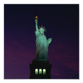 Statue of Liberty, New York, USA 7 Photo Print