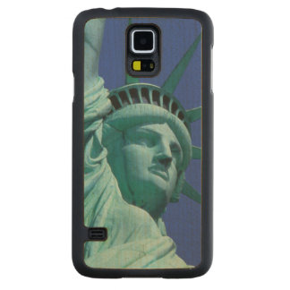 Statue of Liberty, New York, USA 8 Carved Maple Galaxy S5 Case