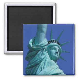 Statue of Liberty, New York, USA 8 Square Magnet