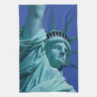 Statue of Liberty, New York, USA 8 Tea Towel