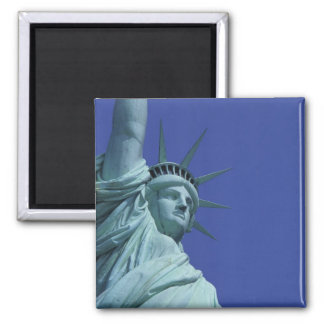 Statue of Liberty, New York, USA 9 Square Magnet