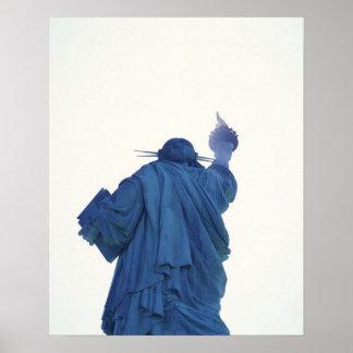Statue of Liberty, New York, USA RF) Poster
