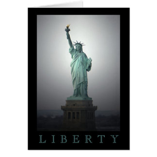 Statue of Liberty Note Card