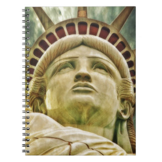 Statue of Liberty Spiral Note Book