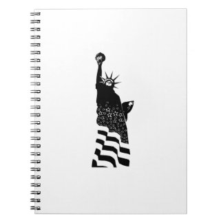 Statue of Liberty Spiral Note Books