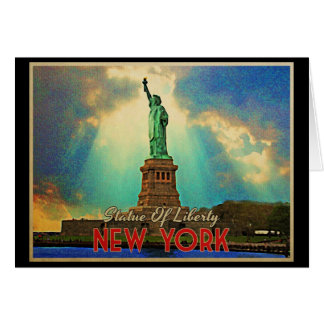 Statue Of Liberty NYC Card