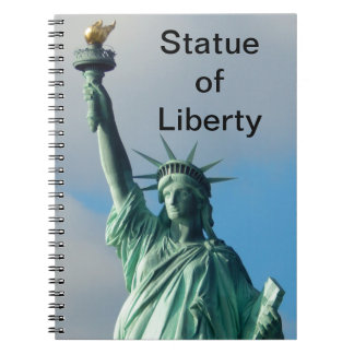 Statue of Liberty NYC Spiral Notebook