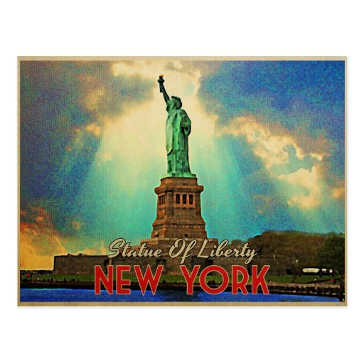 Statue Of Liberty NYC Post Card