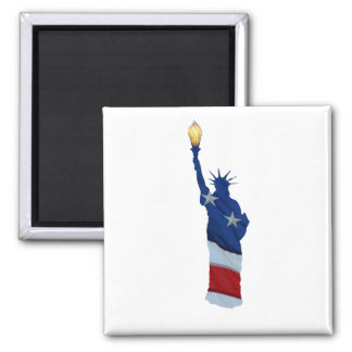 Statue of liberty on any color magnet