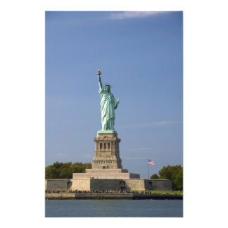 Statue of Liberty on Liberty Island in New Photo Print