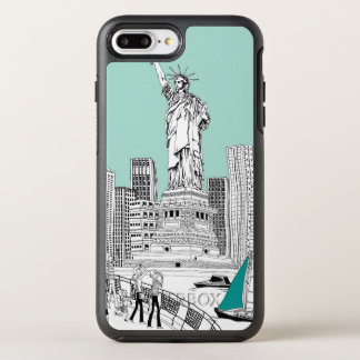 Statue of Liberty OtterBox Symmetry iPhone 8 Plus/7 Plus Case