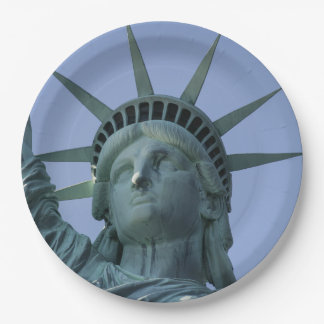 Statue of Liberty paper plates 9 Inch Paper Plate