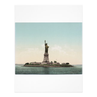 Statue of Liberty photocrom Flyer