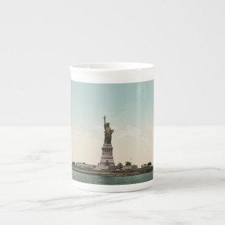 Statue of Liberty photocrom Bone China Mugs