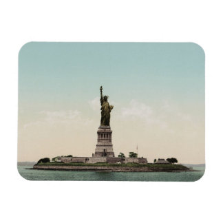 Statue of Liberty photocrom Rectangle Magnets