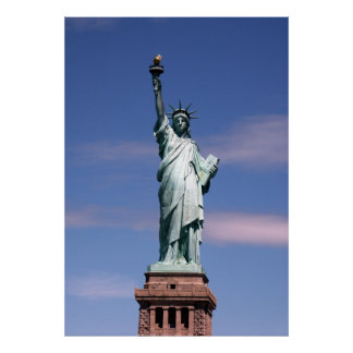 Statue of liberty Photograph Poster