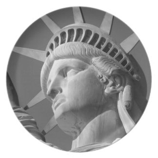 Statue of Liberty Plate