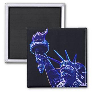 Statue of Liberty Pop Art Magnet