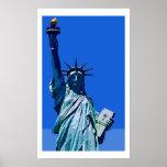 Statue of Liberty Pop Art Poster
