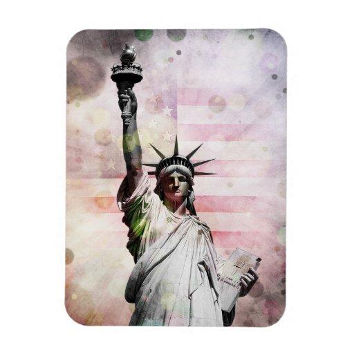 Statue of Liberty Rectangular Magnets