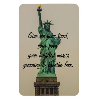 Statue of Liberty Rectangular Magnet